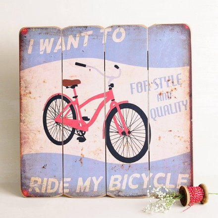 Cuadro I Want to ride my bicycle