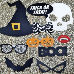 Photobooth Halloween - kit divertido para fotos de halloween