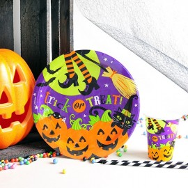Platos de papel para halloween : Trick or Treat?