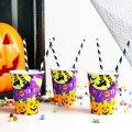 Vasos de papel para Halloween: Trick or Treat?