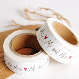 Washi Tape Mr and Mrs