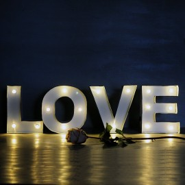Letras LOVE luminosas bodas y eventos